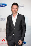 Topher Grace. LOS ANGELES - JUN 9:  Topher Grace arriving at the Art of Elysium Return of Ford Mustang Boss Event at The Residences at W Hollywood on June 9 Royalty Free Stock Image