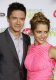 Topher Grace and Teresa Palmer Royalty Free Stock Photo