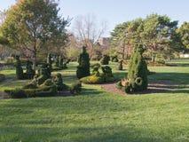 Topiary σκηνή Στοκ φωτογραφίες με δικαίωμα ελεύθερης χρήσης