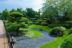 topiary японца сада Стоковое Изображение RF