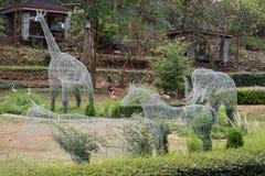 Topiary animal shape Stock Image