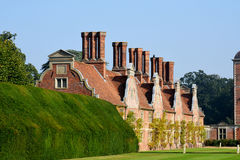 Topiary and Blickling Hall, Aylsham, Norfolk Royalty Free Stock Images