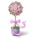 Topiary de la flor de la primavera Imagen de archivo
