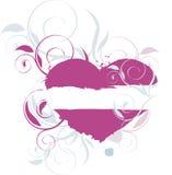 Topiary do coração Imagens de Stock Royalty Free