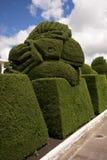 Topiary elaborado em Tulcan Equador fotografia de stock royalty free