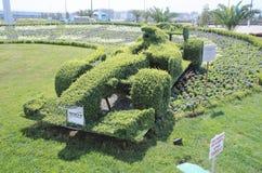 Topiary F1 bolid Zdjęcie Stock