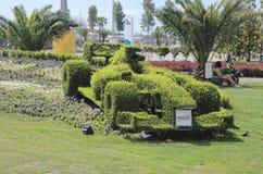 Topiary F1 bolide Στοκ εικόνες με δικαίωμα ελεύθερης χρήσης