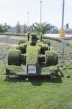 Topiary F1 bolide Στοκ Εικόνα