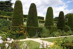 Topiary garden royalty free stock image
