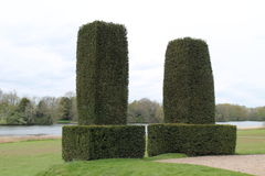 Topiary Hedges. Royalty Free Stock Photography