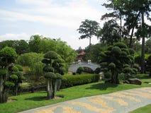 topiary i Kuala Lumpur Malaysia med mycket scenisk foilage Royaltyfria Foton