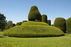 Topiary maze at Packwood Stock Image