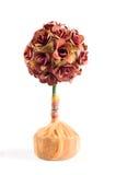 Topiary od papierowego jajka pudełka Obrazy Royalty Free