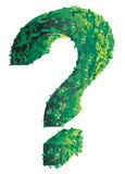 Topiary question mark Stock Photos