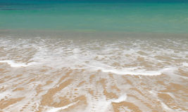 Topical beach wave in summer Stock Photo