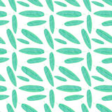 Topical leaf. Seamless watercolor pattern Stock Photography