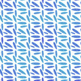 Topical leaf. Seamless watercolor pattern royalty free illustration