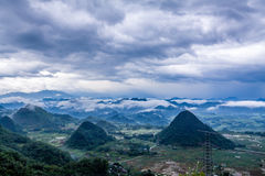 Before topical storm at Vietnam. Before topical storm at Hoa binh province, Vietnam Stock Image