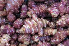 Topinambur, Jerusalem artichoke Royalty Free Stock Photos