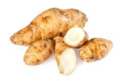 Topinambur or sunroot vegetables Royalty Free Stock Image