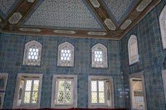 Topkapıpaleis, Turkije, Istambul Royalty-vrije Stock Foto's