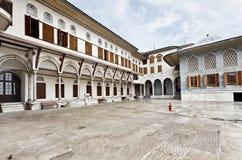 Topkapi宫殿在伊斯坦布尔 图库摄影