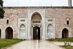 Topkapi宫殿在伊斯坦布尔 库存照片