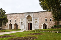 Topkapi宫殿在伊斯坦布尔 免版税图库摄影