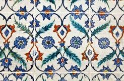从Topkapi宫殿的墙壁尾巴在伊斯坦布尔 免版税库存照片