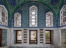 Topkapi宫殿闺房伊斯坦布尔 免版税库存照片