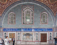 Topkapi宫殿闺房伊斯坦布尔 库存图片