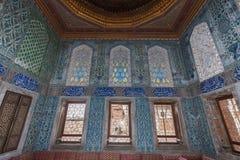 Topkapi宫殿闺房伊斯坦布尔 库存照片