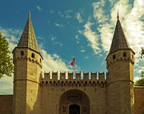 Topkapi宫殿,伊斯坦布尔土耳其 免版税库存图片