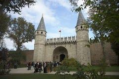 topkapi παλατιών της Κωνσταντινούπολης Στοκ Εικόνα