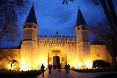 TopKapi Castle Gate Stock Photography