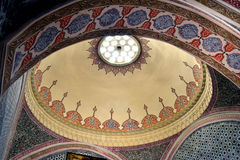 Topkapi ceiling Stock Images
