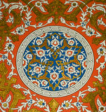 Topkapi Decoration. One of topkapi palace dome decoration Stock Photography