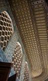 Topkapi-Harem-Palastfenster und -dach Lizenzfreies Stockbild