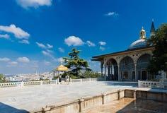 Topkapi pałac na Sierpień 25, 2013 w Istanbuł, Turcja Obraz Stock