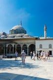 Topkapi pałac na Sierpień 25, 2013 w Istanbuł, Turcja Fotografia Stock