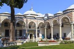 Topkapi pałac, pawilon Święta salopa i Święta relikwia, Ista zdjęcie royalty free