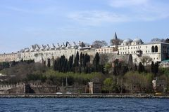 Topkapi Palace. In Istanbul,Turkey royalty free stock photography