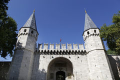 Topkapi Palace. Gate of Salutation or Middle Gate in the Topkapi Palace,Istanbul,Turkey Stock Image