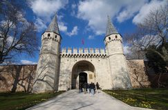Topkapi Palace Stock Images