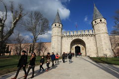 Topkapi Palace Royalty Free Stock Image