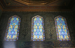 Topkapi Palace. Image of Interior room from Topkapi Palace in Istanbul - Turkey (the Harem royalty free stock images