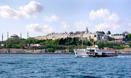 Topkapi palace Stock Photography