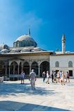 Topkapi Palace on August 25, 2013 in Istanbul, Turkey Stock Photography