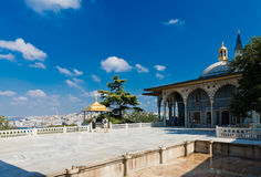 Topkapi Palace on August 25, 2013 in Istanbul, Turkey Stock Image