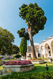 Topkapi Palace on August 25, 2013 in Istanbul, Turkey Royalty Free Stock Images